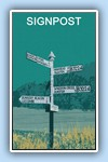 LS Dunkery signpost green copy